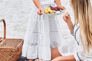 Как сшить многоярусную юбку для девочки