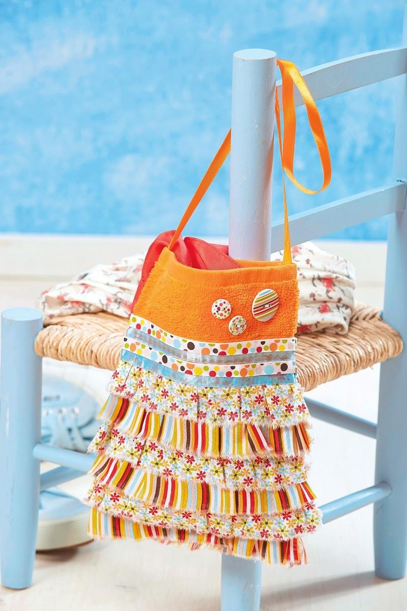 Пляжная сумочка длядевочки своими руками