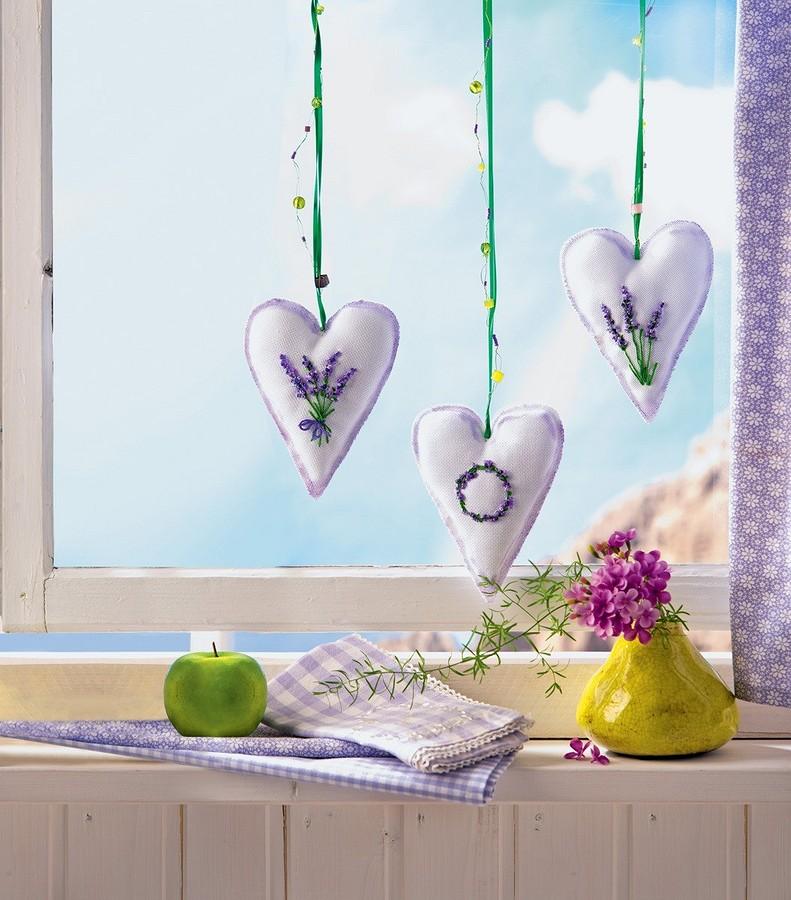 Веление сердца: лавандовое саше своими руками