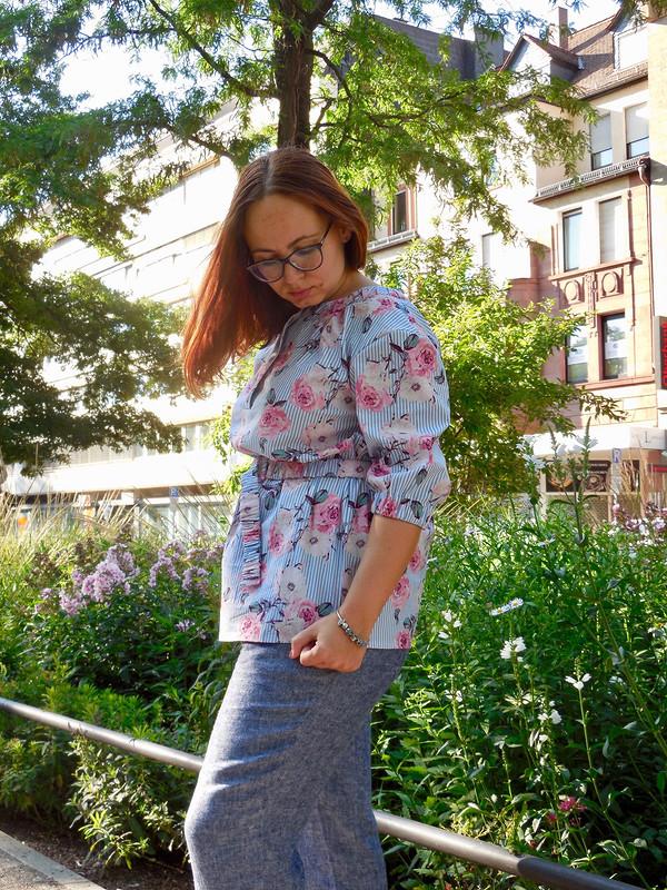 Блуза ходожника