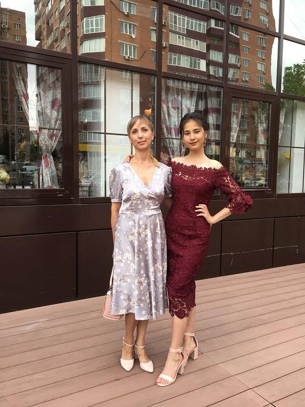 Платье сзапахом от Irinakan