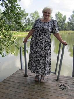 Работа с названием Платье   в стиле  60-х,  или  почти  мамино  платье.