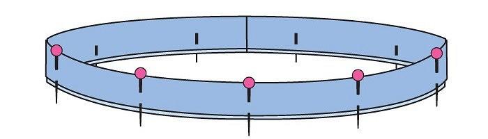 Как обработать глубокий вырез горловины визделии изтрикотажа