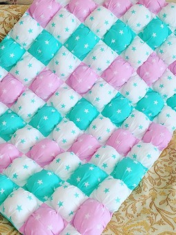 Работа с названием Зефирное одеялко