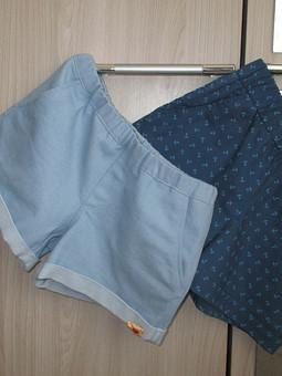 Работа с названием шорты для дочки