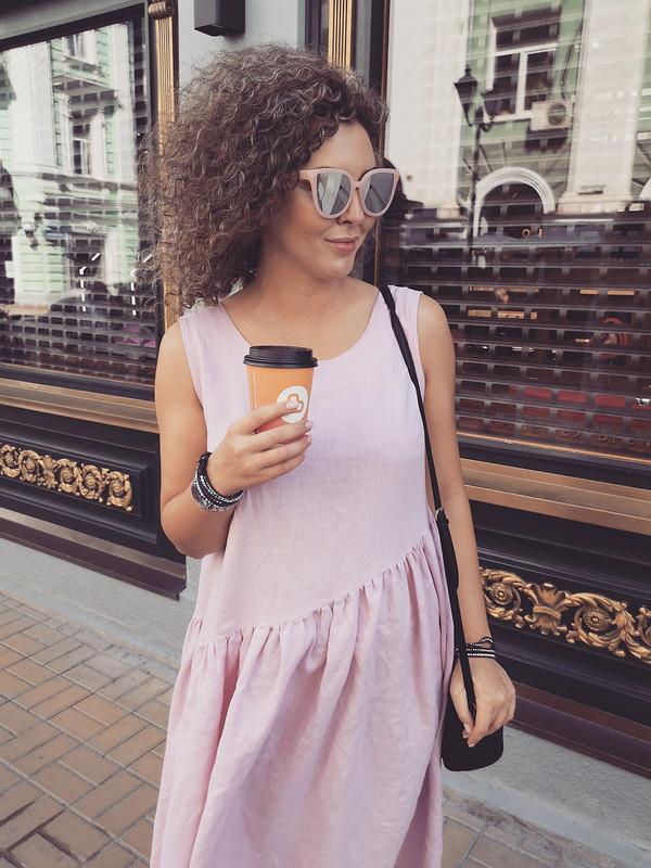 Льняное платье от Васильцова