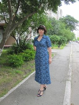 Работа с названием Платье, которое хотела сшить очень давно