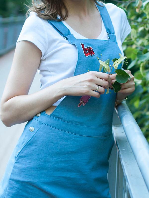 Джинсовый сарафан от Анастасия Морозова