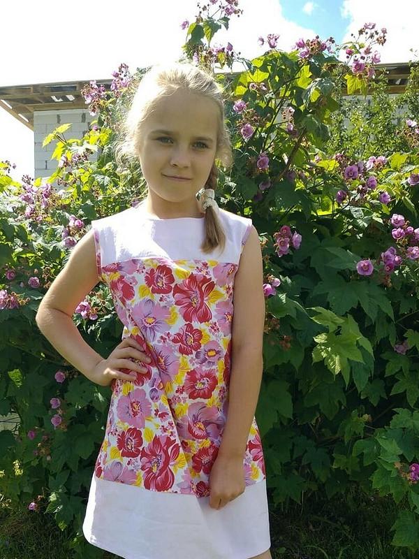 Цветочный сарафан