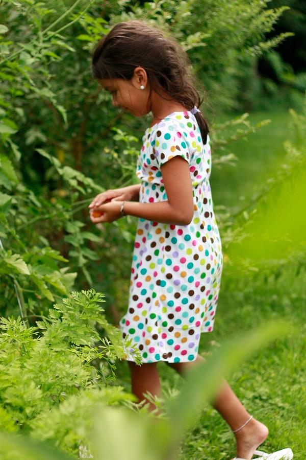 Платье длядевочки своими руками