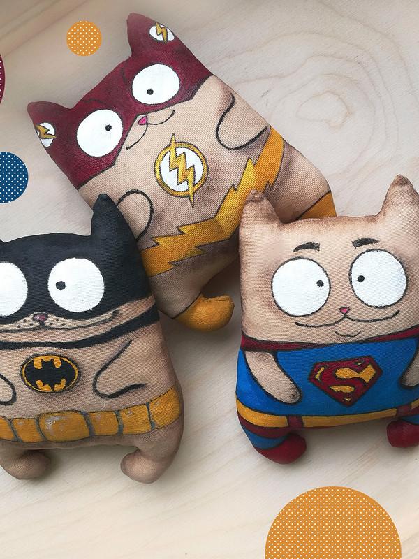 Котики-супергерои