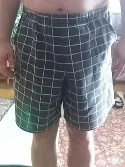 Работа с названием Мужские шорты