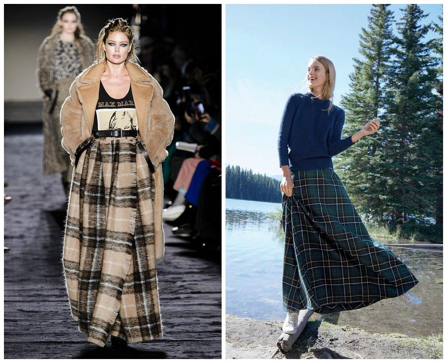 Самые стильные юбки осени 2018