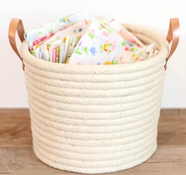 Идеи дляхранения — интерьерные корзины: 5 мастер-классов