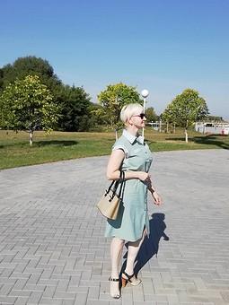 Работа с названием Платье сафари