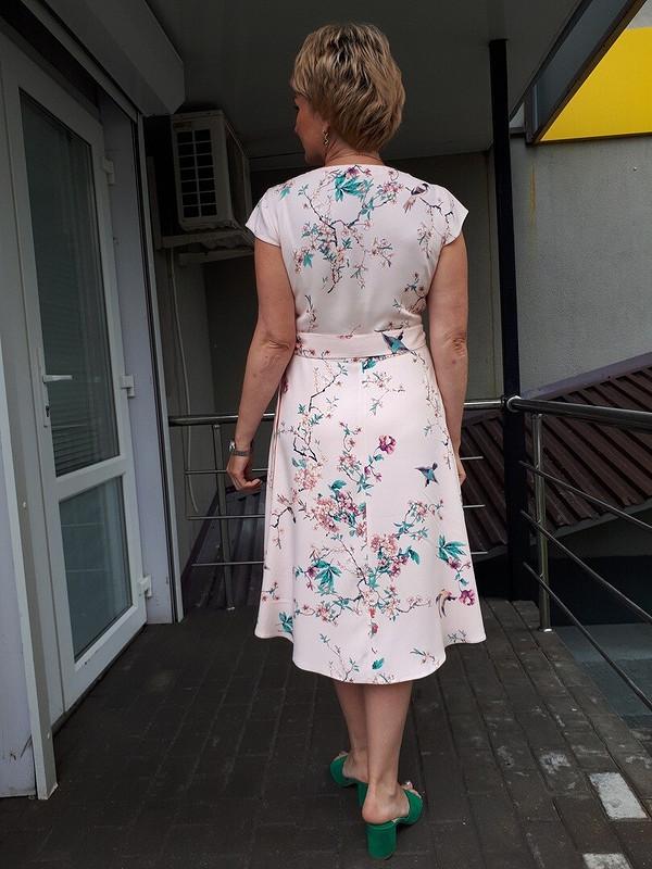 Платье сзапАхом от Lelik B