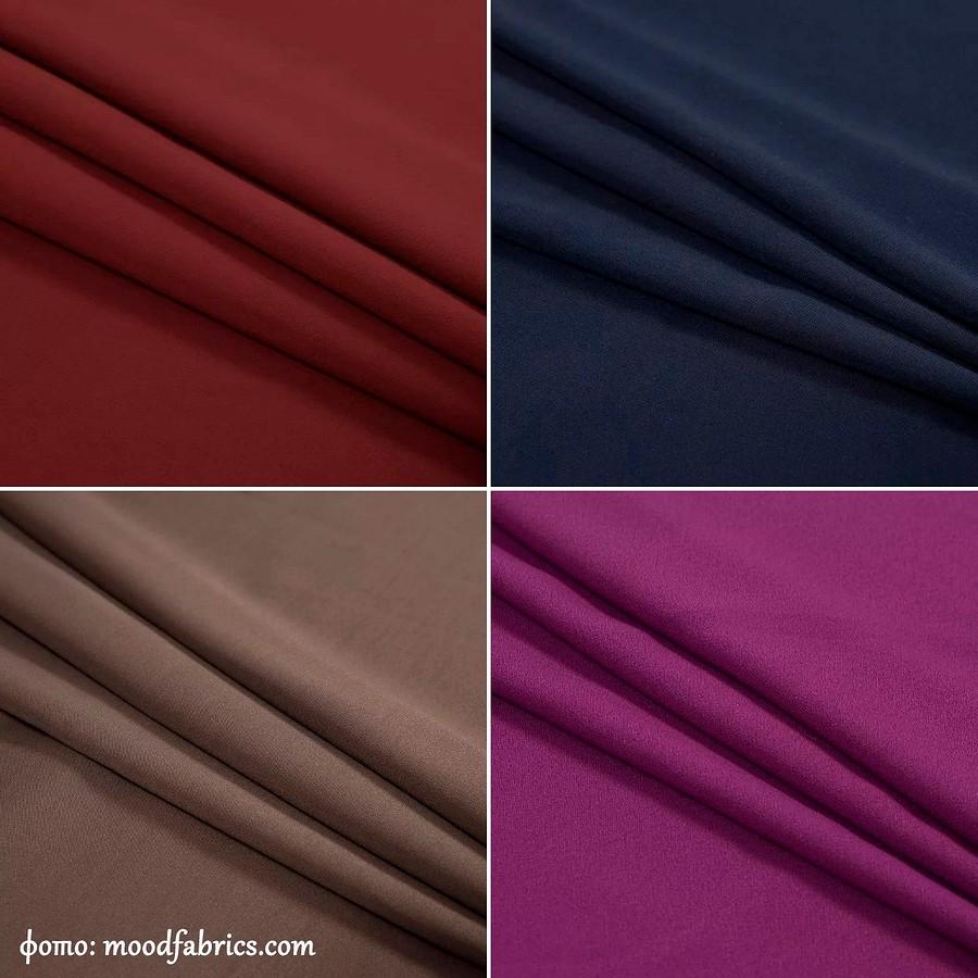Что такое креп икреповые ткани