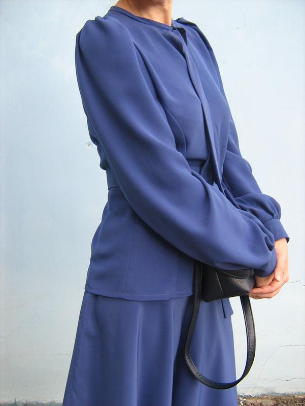 Блузка спышными рукавами