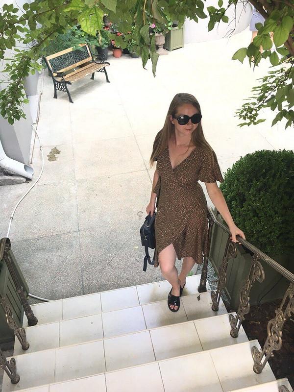 Платье назапах от Anna_Usmeshka