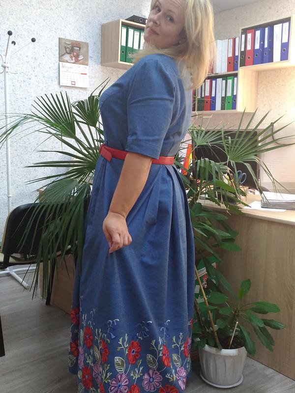 Джинсовое от svetlanateterevkova