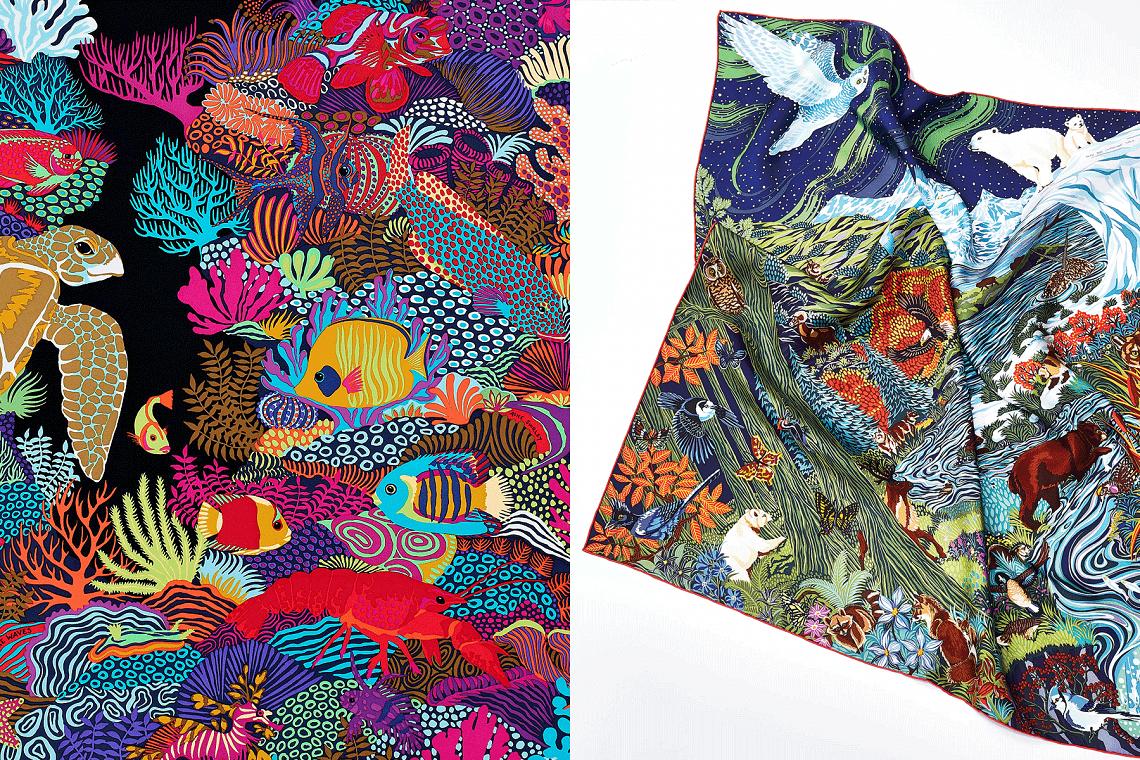 Hermès закулисами: шелковый платок как история