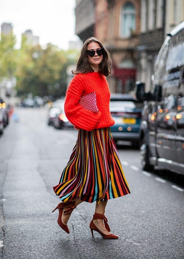 Street style: самые эффектные образы Недели моды вЛондоне 2018