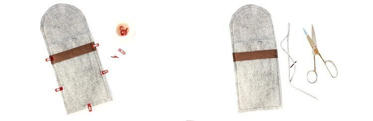 Чехол дляпланшета изфетра своими руками: мастер-класс