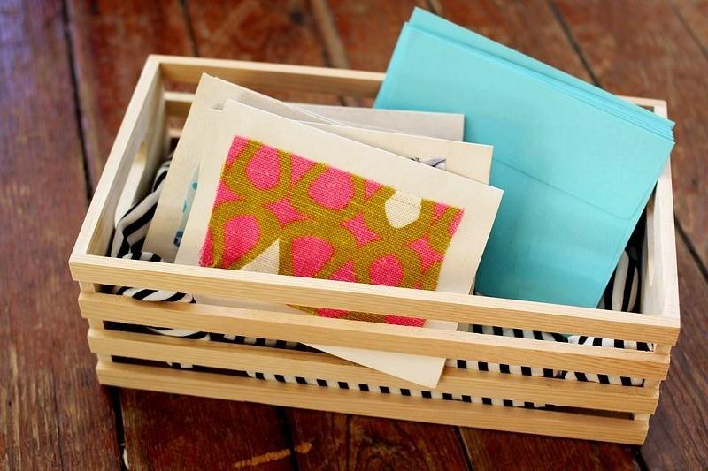 Как сделать винтажную открытку излоскутков