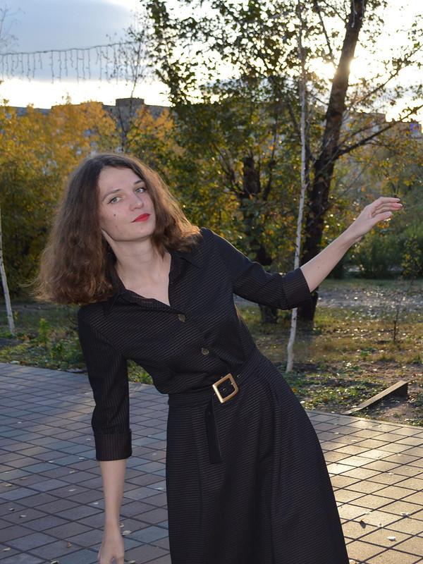 Осеннее платье.