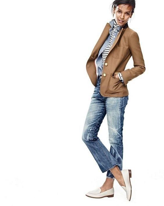 С чем носить джинсы этой осенью: 17 образов