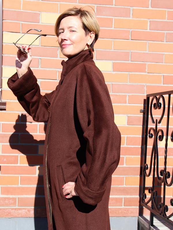 Шоколадное пальто