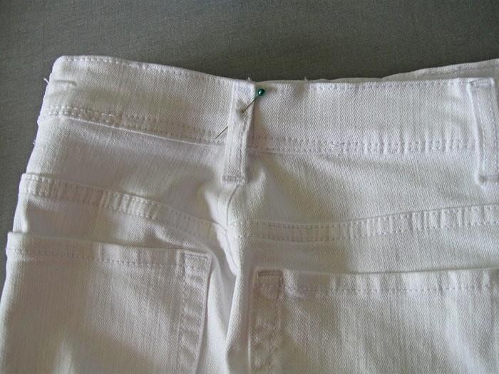 Как ушить джинсы вталии: мастер-класс