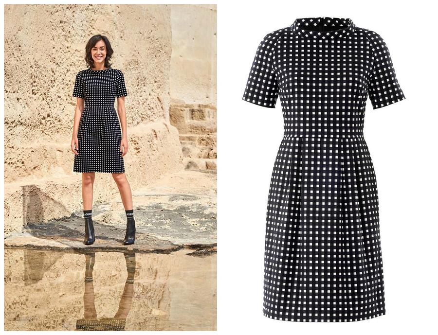Выкройка месяца: идеальное твидовое платье наосень-2018