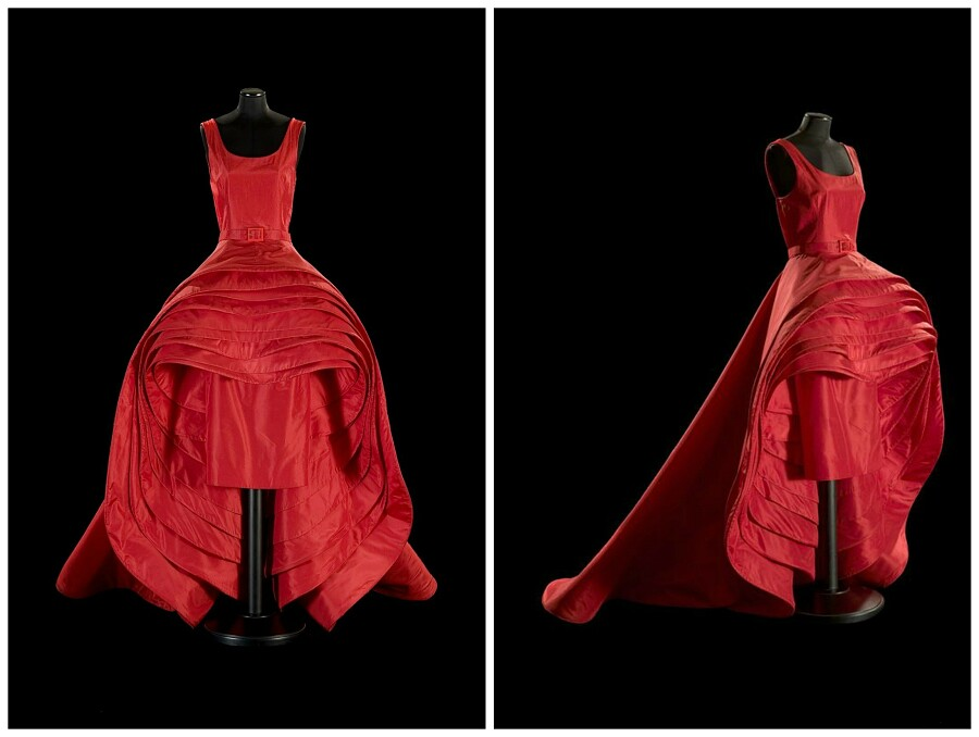 Я легенда: платье «Девять юбок» отРоберто Капуччи