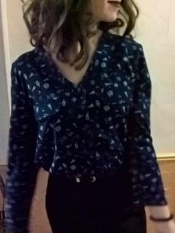 Работа с названием блузка