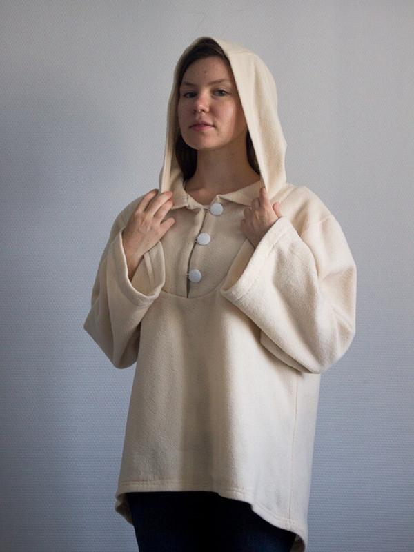 Белый эльфийский анорак