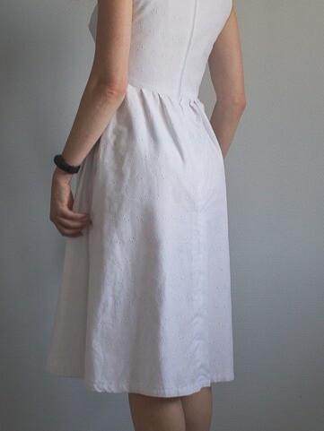 Белое платье налето от NataliaSergeeva