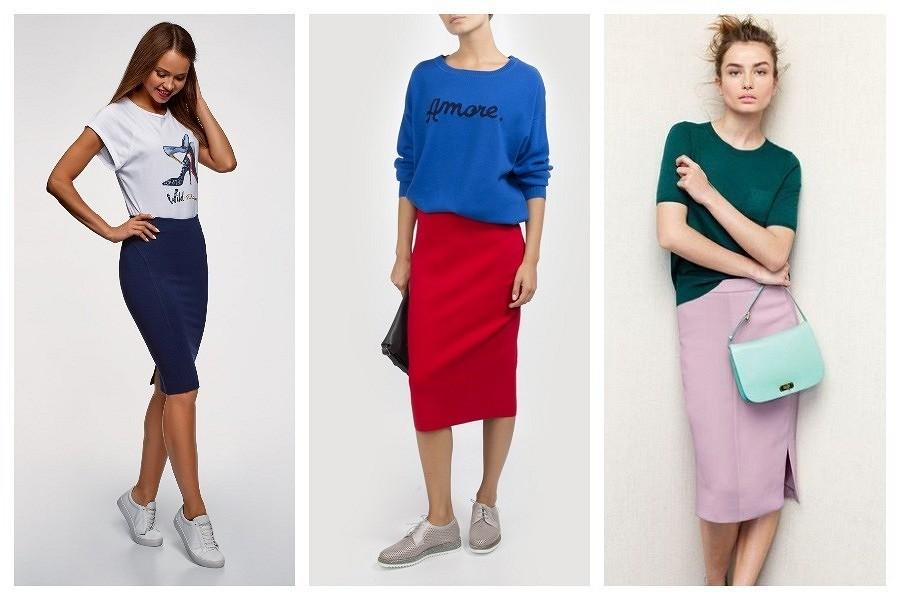 С чем носить юбку-карандаш: 9 модных вариантов