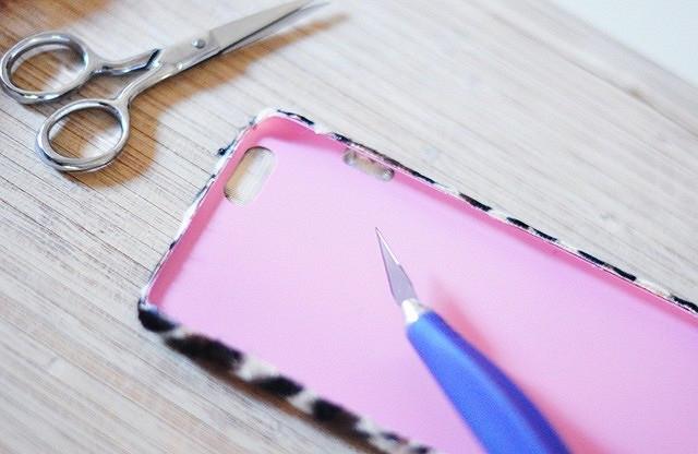 Идея: как сделать меховой чехол длятелефона изобычного чехла