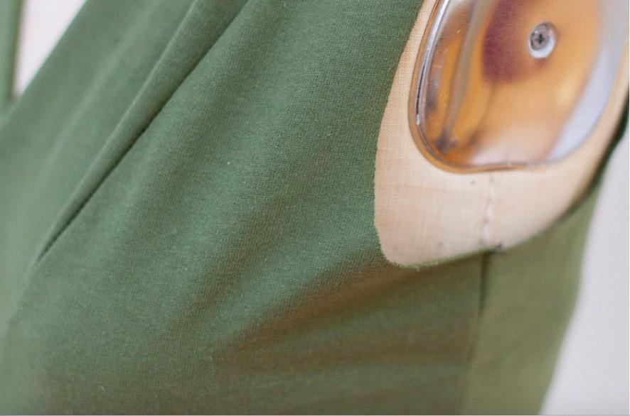3 способа выполнить идеальную пройму втрикотажном изделии безрукавов