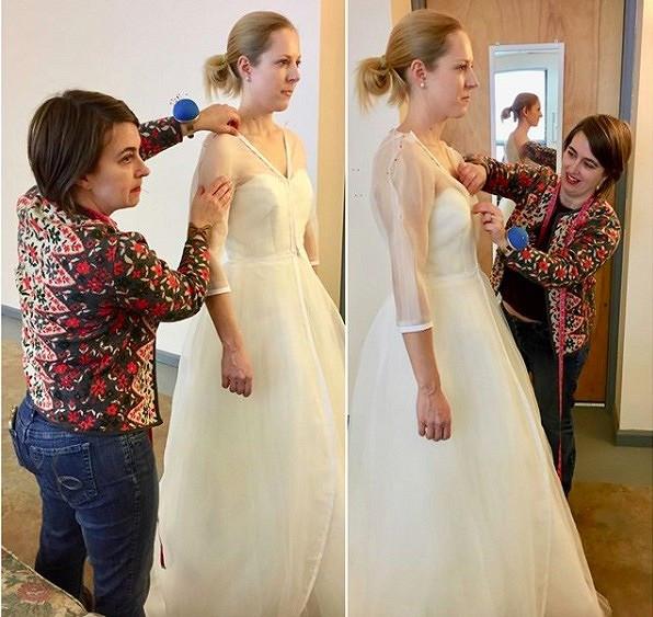 Как создаются свадебные платья: instagram недели