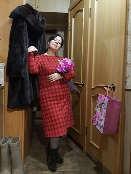 Работа с названием 47 горошен или платье на День варенья!