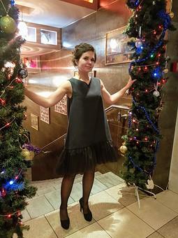 Работа с названием Платье для новогоднего корпоратива