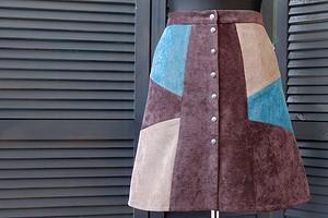 Стиль по кусочкам: юбка в технике пэчворк своими руками