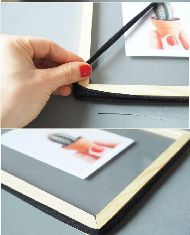Как украсить рамы дляфото, картин ипостеров: 11 идей синструкциями