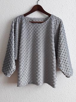 Работа с названием Плюшевый пуловер для подруги Ани