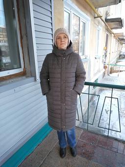 Работа с названием Зимняя куртка