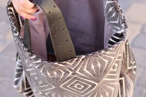 Большая сумка-шопер на подкладке: мастер-класс