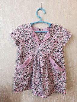 Работа с названием платье из ситца