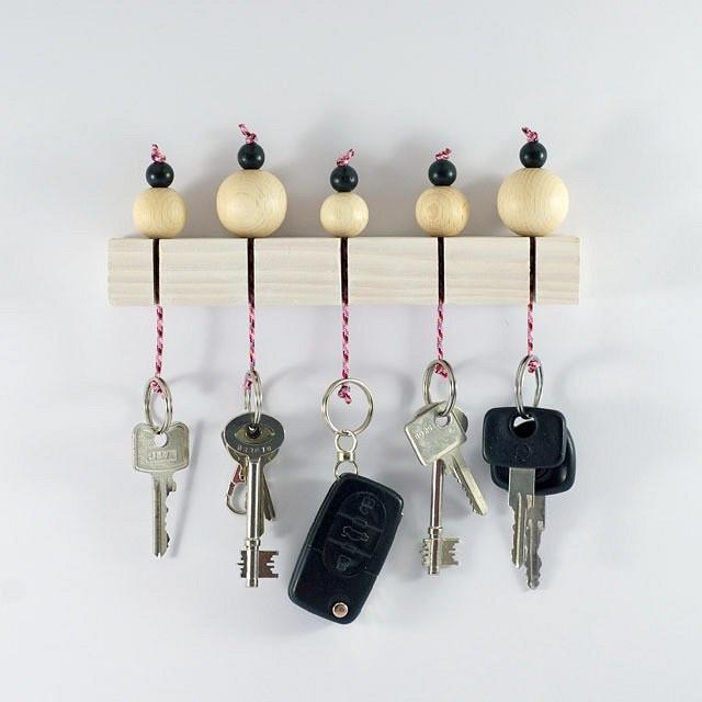 Как хранить ключи: 10 рукодельных идей синструкциями